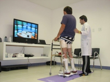 video game pain rehab