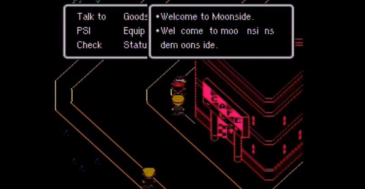 earthbound moonside