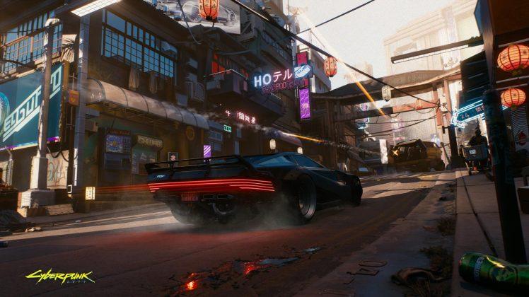 cyberpunk 2077 driving