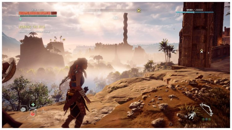 Horizon Zero Dawn Graphics