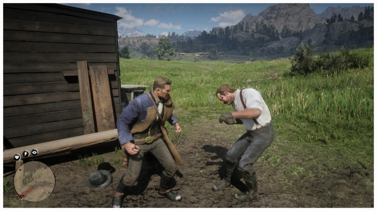Red dead redemption 2 fist fight