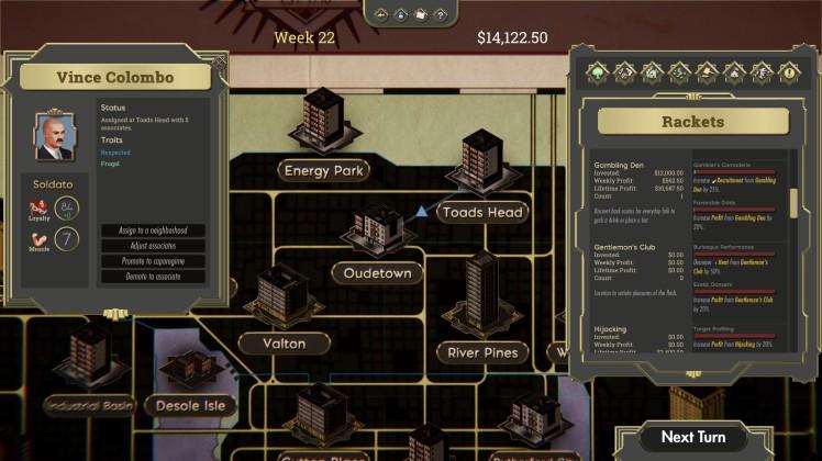 commission organized crime