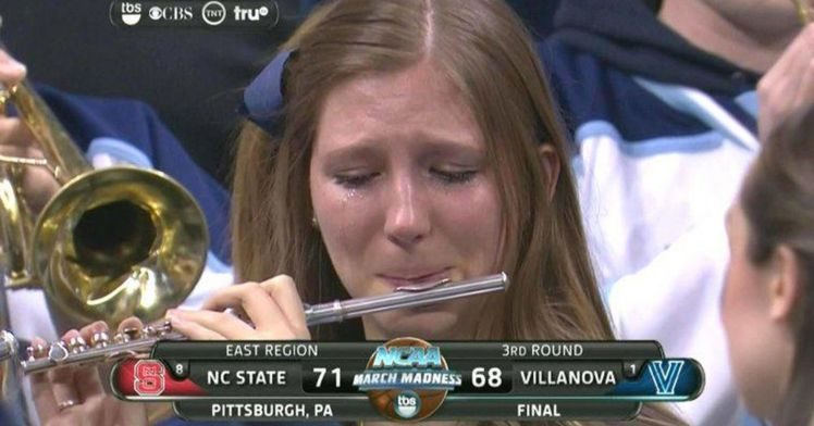 villanova crying piccolo player